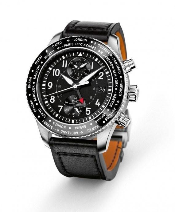 Falsi IWC Pilot Timezoner Chronograph