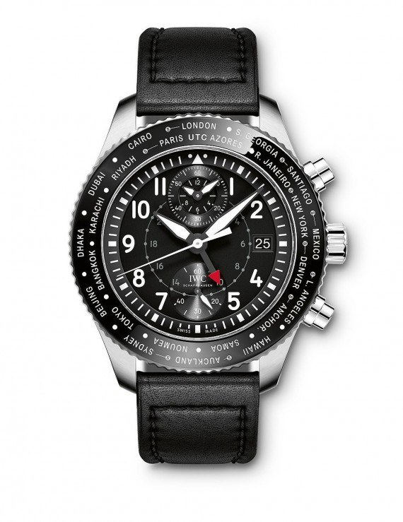 Replica IWC Pilot Timezoner Chronograph