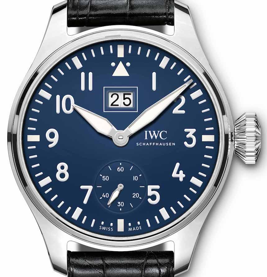 Replica IWC Piloti 150 Anni Blu