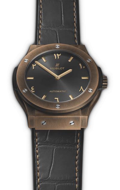 hublot classic fusion special edition bronze anticlockwise replica
