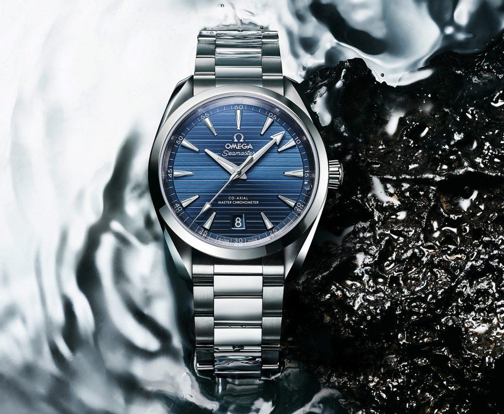 Omega Seamaster Aqua Terra Replica Blu