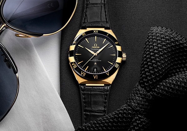 Omega Constellation Noir Replica